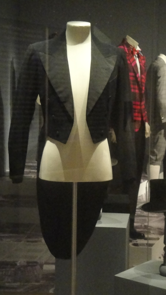 Tailcoat at ManStyle exhibition ManStyle NGV International Melbourne Menswear exhibition Melbourne
