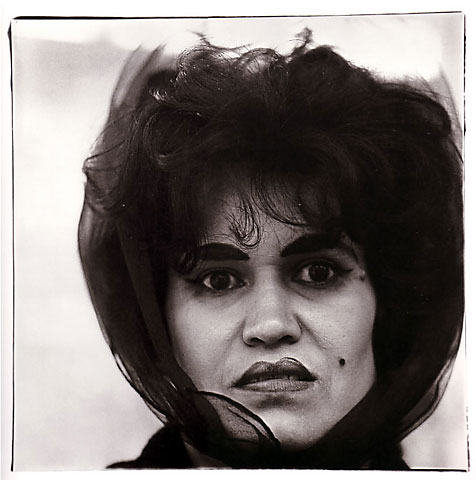 Diane Arbus Puerto Rican woman with a beauty mark, N.Y.C. 1965  © The Estate of Diane Arbus Tate Modern 2011