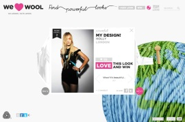 We Love Wool website We Love Wool competition Fashion by Feelings Wool Lookbook Wool street style