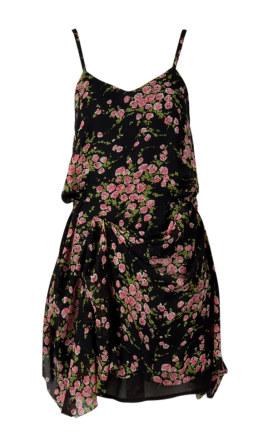 louche coco drape strappy dress joy the store