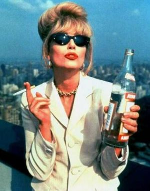 90s glamour jewellery high octane Ab fab nineties Joanna Lumley Absolutely Fabulous Joanna Lumley 2011 Joanna Lumley Patsy Absolutely Fabulous 2011