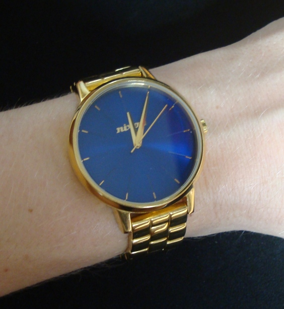 Nixon Kensington watch Nixon Kensington gold blue Nixon Kensington womens watch Nixon Kensington 2011