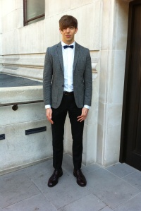 Alex Emberey at London Fashion Week
