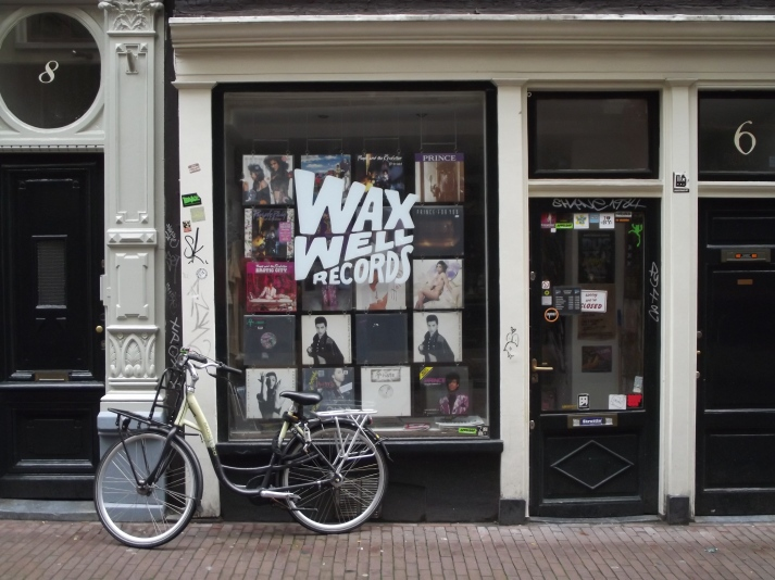 Wax Well Records Prince Amsterdam Nine Streets 2011 Amsterdam's Nine Streets Holland shopping 2011 boutiques indies Amsterdam shopping best shops in Amsterdam shopping area Amsterdam