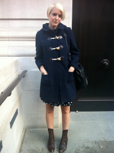 London Fashion Week SS12 TodayImWearing street style Katie Wright