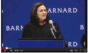 Sheryl Sandberg addresses the 2011 graduating class of Barnard College Sheryl Sandberg Facebook addresses the 2011 graduating class of Barnard College Sheryl Sandberg Facebook speech Sheryl Sandberg Facebook gender inequality speech Sheryl Sandberg Facebook women in the workplace speech Sheryl Sandberg Facebook men rule the world speech Sheryl Sandberg Facebook COO speech