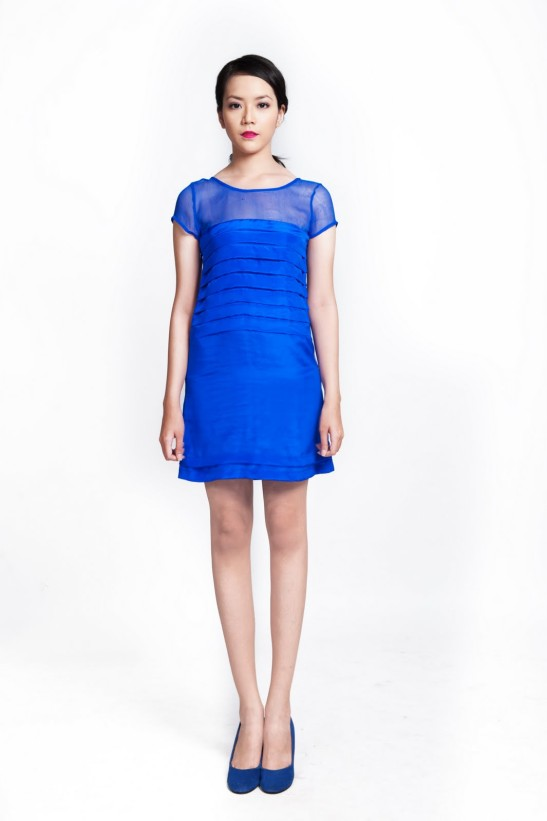 Linda Mai Phung, Adeline Blue dress, ethical fashion
