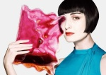 Erin O'Connor supports the Bag to Save a Life campaign for Save the Children