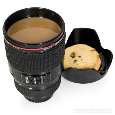 camera lens mug camera present unusal mugs tea lover presents photographer presents christmans presents firebox.com camera lens mug