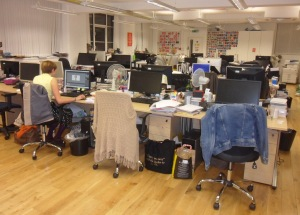 Stylist magazine office Emerald Street Stylist website Stylist Made By You competition winners