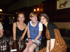 Helen, Olivia and Jennifer at the first fashion tweet up in September style and then some tweet up style & then some tweet up