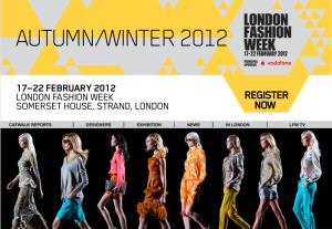 Vodafone Principal Sponsor London Fashion Week Autumn Winter 2012 LFW AW12 Somerset House Fashion Week tickets