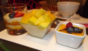 MADD mango desserts mango cream mango sticky rice mango fool recipes dessert house soho cafe soho London 2012