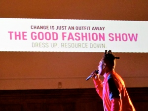 GFS Omar Good Fashion Show TellusFashion ethical boutique launch ethical fashion London Fashion Week A/W 12