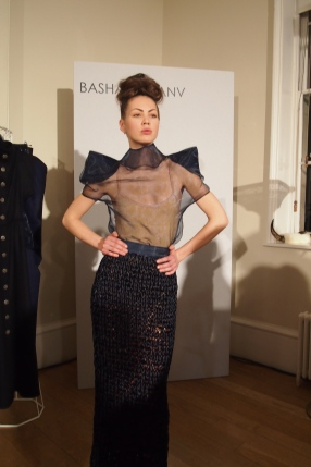 Basharatyan V at London Fashion Week AW12 model Felicities Presents Autumn Winter 2012 February 2012