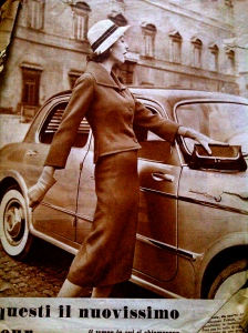 Pamela Crampton, 1950s fashion, 1950s trend, 1950s model