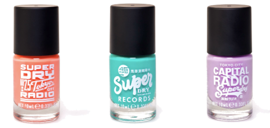Superdry nail varnish superdry SS12 superdry nail varnish SS12 Superdry make up Superdry nails Superdry 2012 Superdry SS12 nail varnish Superdry Nails Superdry varnish