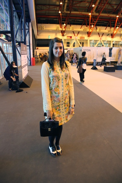 Charis Younger at Graduate Fashion Week 2012 street style at Graduate Fashion Week 2012 street style photos 2012 graduate fashion week gfw 2012 earl's court exhibition centre graduate fashion week 2012 photos street photos style photos outfit photos
