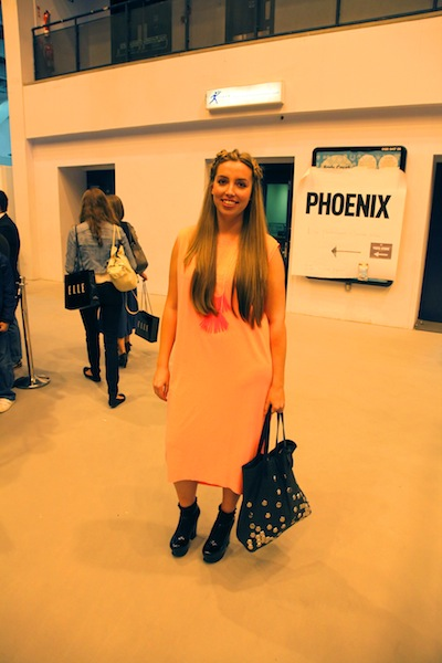 Marissa Owen at Graduate Fashion Week 2012 street style at Graduate Fashion Week 2012 street style photos 2012 graduate fashion week gfw 2012 earl's court exhibition centre graduate fashion week 2012 photos street photos style photos outfit photos