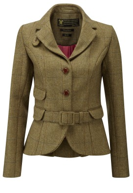 Cliveden tweed jacket Gracia Woman ethical fashion