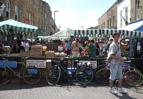Broadway Market London east end london east end shopping guide east london shopping east end markets