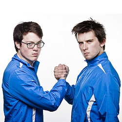Kieran and Joe Friends of Steel at the Edinburgh Fringe Festival 2012 best comedy shows at the Edinburgh Fringe Festival 2012 top five comedy shows at the Edinburgh Fringe Festival 2012 best comedians at the Edinburgh Fringe Festival 2012