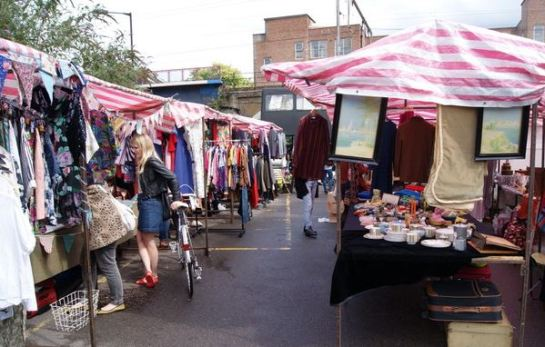 Netil Market broadway market east end london east end markets east london markets east end london shopping