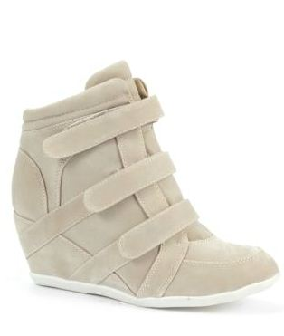 New Look heeled trainers wedge sneakers 2012