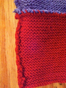 how to knit a baby blanket American flag baby blanket