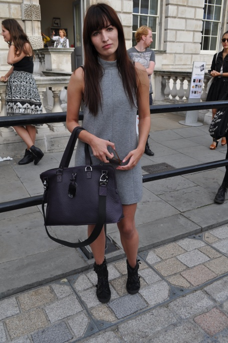 Alex - street style at London Fashion Week the best street style London Fashion Week sping summer 2013 street style photos London Fashion Week September 2012 Somerset House