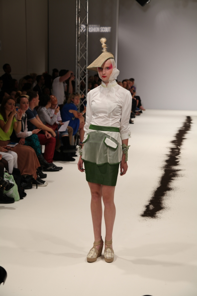 Ji Cheng SS13 London Fashion Week Ji Cheng Teaism ji Cheng VFS Ji Cheng Vauxhall Fashion Scout 2012