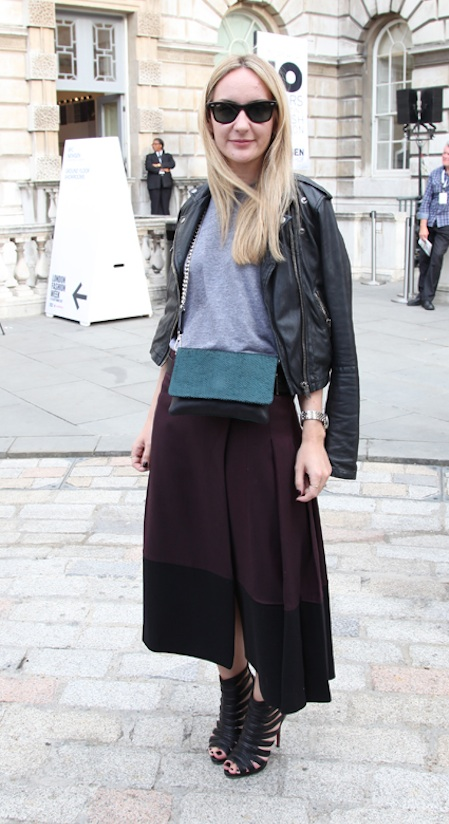 Samantha - street style at London Fashion Week the best street style London Fashion Week sping summer 2013 street style photos London Fashion Week September 2012 Somerset House
