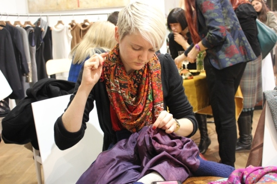 The Sew It Forward launch event The Good Wardobe sustainable fashion London sewing skills London