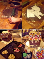 DIY gingerbread houses recipe
