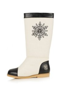 Valenme snow flake booties snow boots Topshop