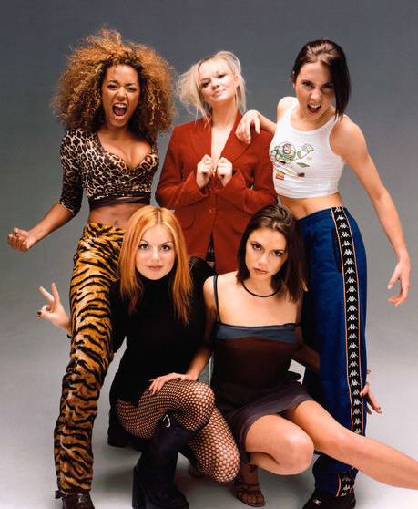 Nineties trend spice girls Spice Girls fashion nineties Fashion Spice Girls Spice Girls Leopard Print Mel B
