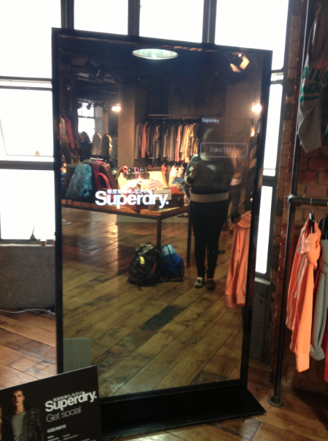 Superdry Magic Mirror Regent street
