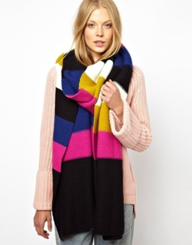 scarf, winter, autumn, knit, blanket, 2013, ASOS